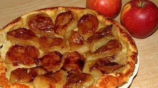 Французский яблочный торт  Рецепт торта
