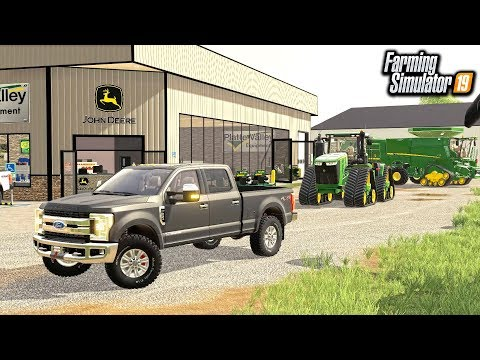 BUYING & SELLING FARM EQUIPMENT AT JOHN DEERE! (ROLEPLAY) | FARMING SIMULATOR 2019