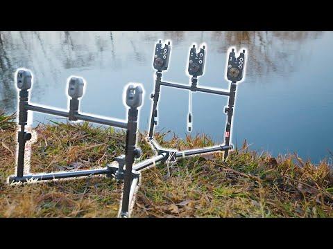 Carp Fishing -Three Rod Pod - NGT XPR Pod Full Review