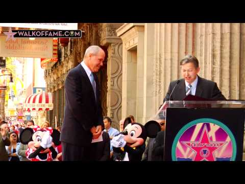 Michael Eisner Honored with Hollywood Walk of Fame...