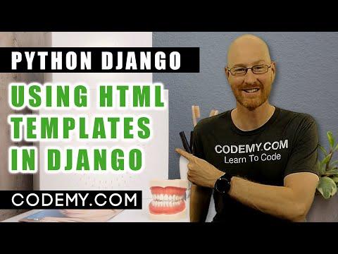 Using Fancy HTML Templates In Django - Python Django Dentist Website #4