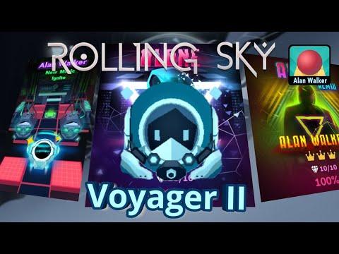 Rolling Sky - Voyager-II aka Alone-Ball [ Alone, Ignite, Alone-Remix ]