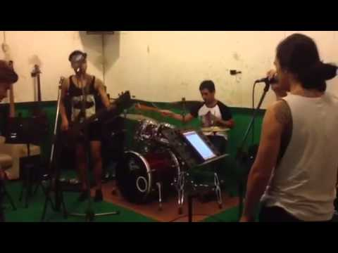 Did my time korn cover first time practise by Teething Band thailand