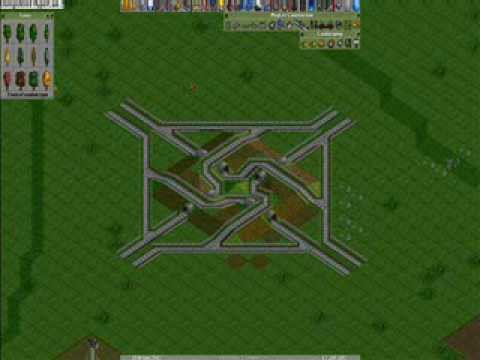 OpenTTD - Junctions - YouTube