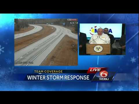 Winter Weather: Mississippi officials provide update on current conditions and preparations