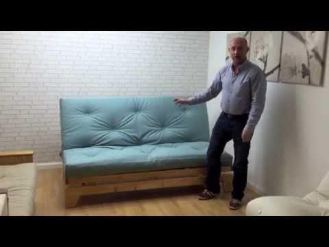 shropshire narrowboat futon sofabed funky futon youtube