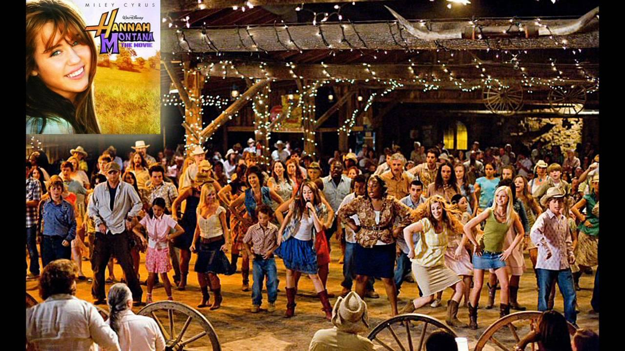 1 Hannah Montana The Movie Hoedown Throwdown Soundtrack Youtube