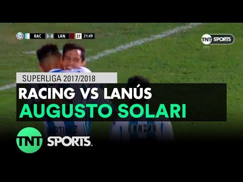 Augusto Solari (3-0) Racing vs Lanús   Fecha 16 - Superliga Argentina 2017/2018