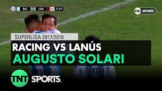 Augusto Solari (3-0) Racing vs Lanús | Fecha 16 - Superliga Argentina 2017/2018