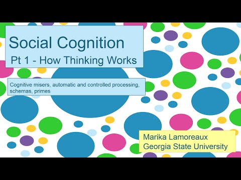 Social Cognition   1   how thinking works