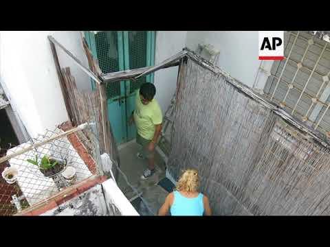 Hurricane Irma hits small Caribbean islands