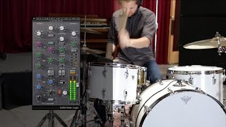 How to EQ Drums Using the SSL 4000 Plugins