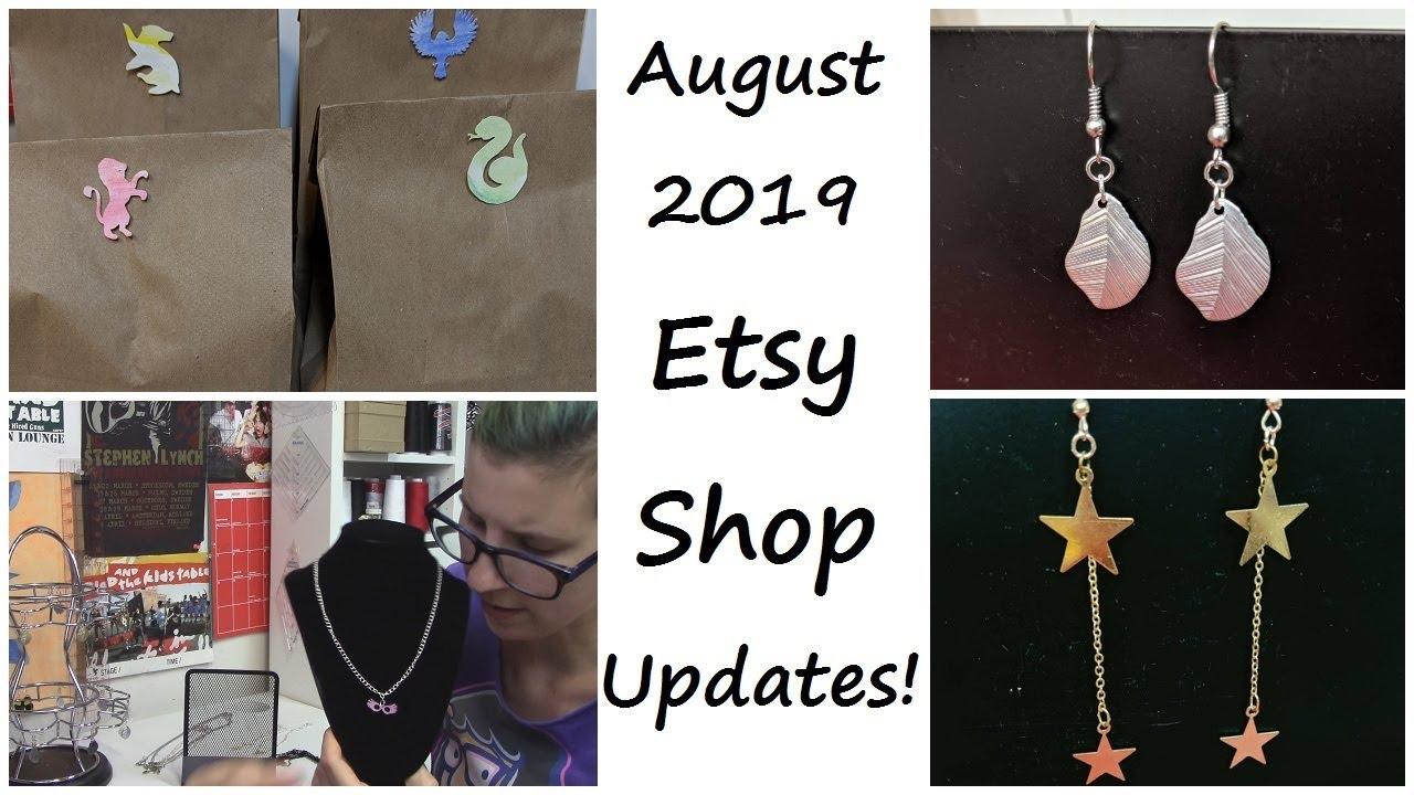 Etsy Shop Updates | SEWING NERD!