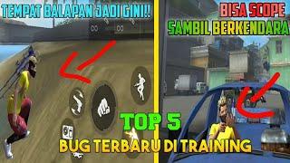 TEMPAT BALAPAN JADI ANEH!! - BUG TERBARU TRAINING GROUND