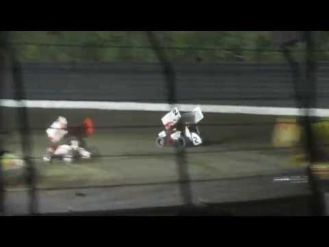 Calistoga Speedway World of Outlaws 4/11/2015