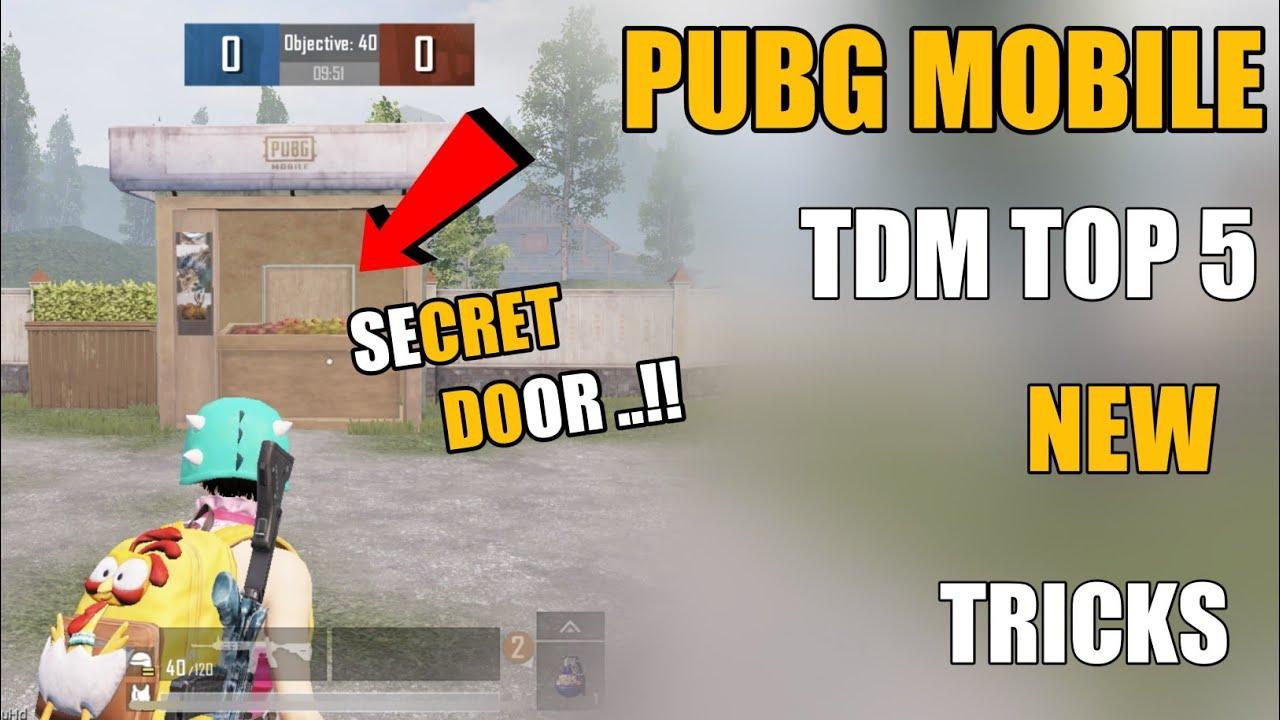 Download PUBG MOBILE NEW 5 TDM NEW TRICKS !! NEW TRICKS TDM PUBG MOBILE