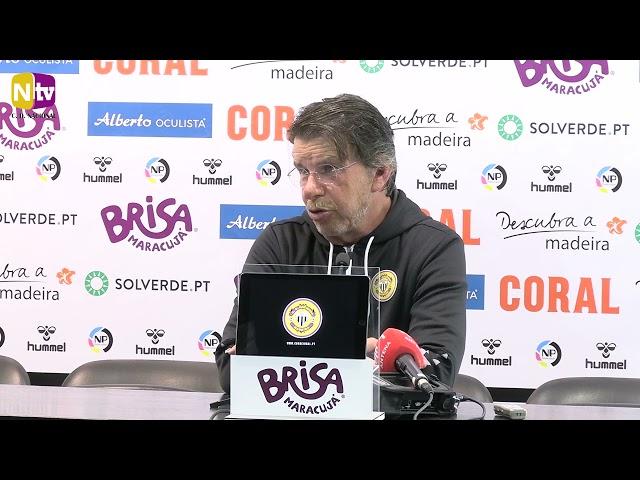 Manuel Machado na antevisão ao jogo com o Portimonense: