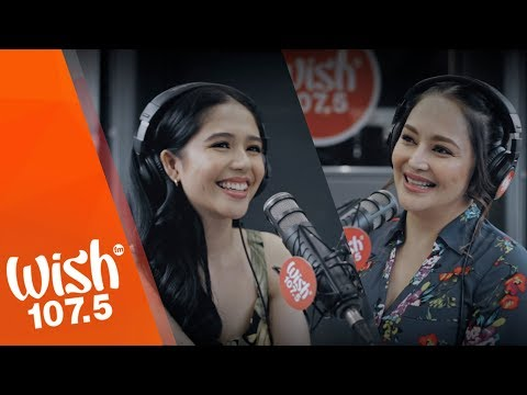 "Jayda And Jessa Zaragoza Perform ""Points Of View"" LIVE On Wish 107.5 Bus"