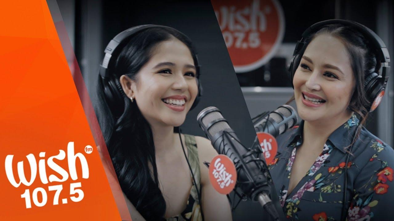 Jayda and Jessa Zaragoza perform