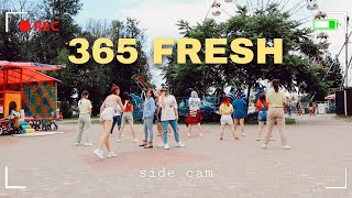 [KPOP IN PUBLIC BEHIND] (SIDE CAM ver.) Triple H (트리플 H) - 365 FRESH | DANCE COVER BY BACKOUT