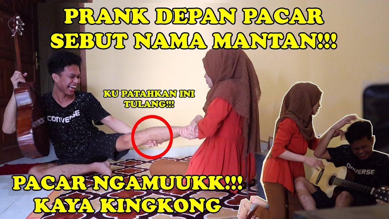 PRANK PACAR SAMPAI NGAMUUKK!!! || PACAR MARAH KAYA KINGKONG!!!