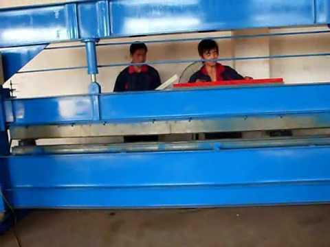 simple sheet metal hydraulic bending machine