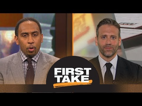 Stephen A and Max Kellerman clash on where the Spurs will trade Kawhi Leonard  First Take  ESPN