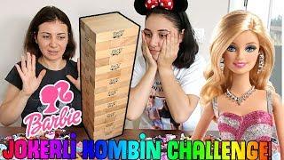 Jokerli Barbie Kombin Challenge Ahşap Bloklardan Ne Çıkarsa Kombin Bidünya Oyuncak  🦄