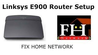Linksys E900 setup