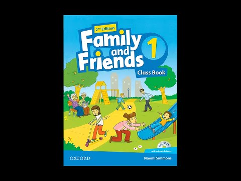 Family And Friends 1 2nd Edition English For Kids