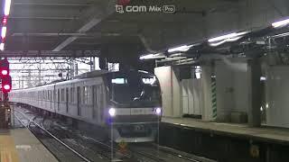 東京メトロ7118Fと10119F 準急新木場行 西武線所沢