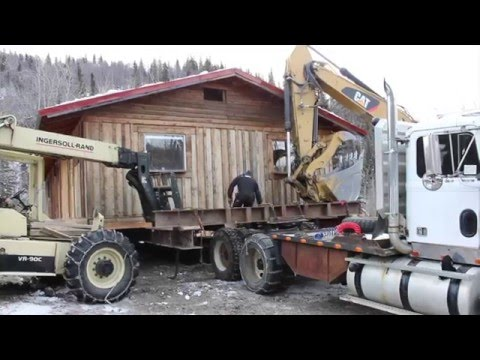 """Building in Alaska Episode 2 """"Move that House!"""""""