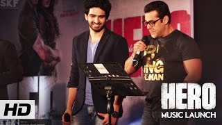 Hero Music Launch | Salman Khan, Sooraj Pancholi, Athiya Shetty