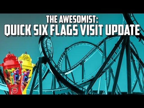 Quick Six Flags Magic Mountain Visit Update. 03/28/2017