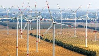 Neuer Allzeitrekord für Wind- und Solarstrom in Deutschland - 50,4 Gigawatt am 21.06.2018