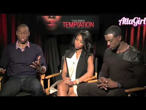 Brandy Lance Gross & Robbie Jones talk Tyler Perry's Temptation