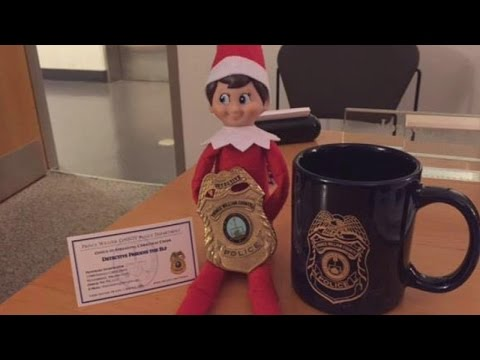 Thumbnail: Police Provide Cover Story When Boy's 'Elf on the Shelf' is Stolen