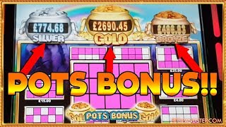FINALLY the BIG ONE? 🍀 Rainbow Riches Bingo POTS BONUS!!