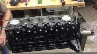 Nissan patrol TD42 engine hand Spun without head on.