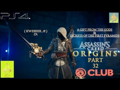 Assassin's Creed: Origins [ PS4 ] - Walkthrough Part 32 |Nightmare Mode| 100% (A Gift From The Gods)