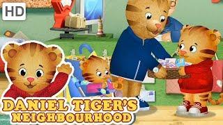 Daniel Tiger 🛍️🥬 Helping Dad   Videos for Kids
