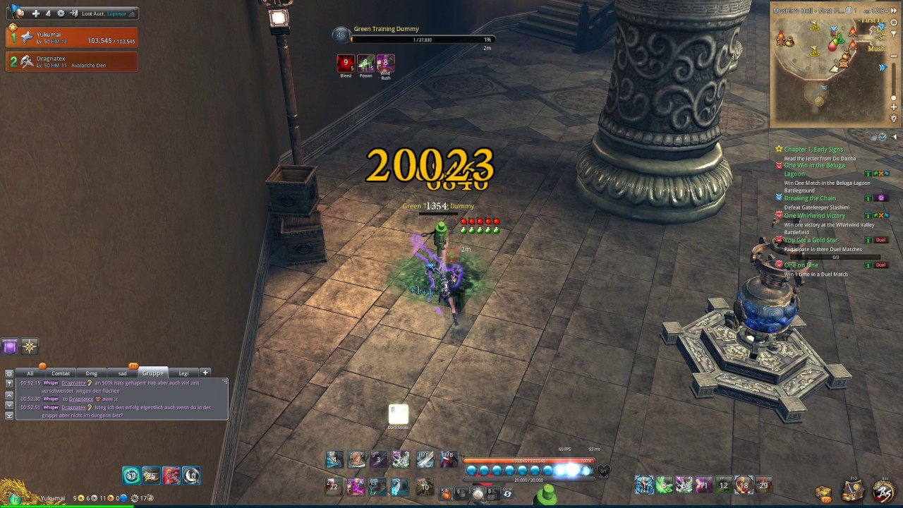 [Blade & Soul] Assassin testing RB F only with Raven Weapon