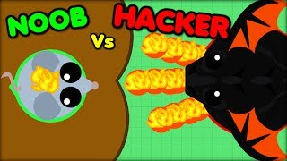MOPE.IO NOOB VS HACKER | MOPE.IO HACKER(mope.io update)