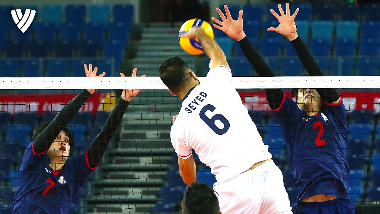Men's MOST Powerful Spikes | AVC Tokyo Volleyball Qualification 2020