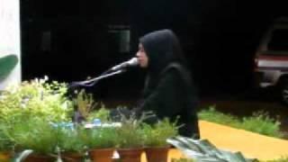 Malaysian Qariah, Sharifah Khasif.mpg