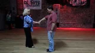 West Coast Swing Instructional Demonstration with Instructor Joey Cecio 5/15/131/15/14
