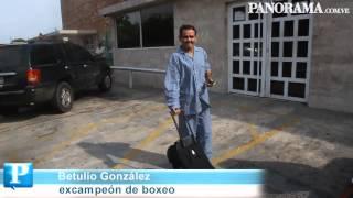 Betulio, de alta, volvió a su casa. Luis Bravo