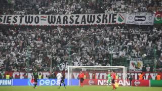 Radość po ostatnim gwizdku Legia - Sporting