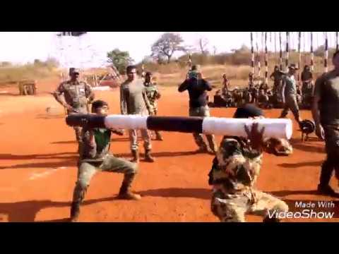 Training of cobra commandos