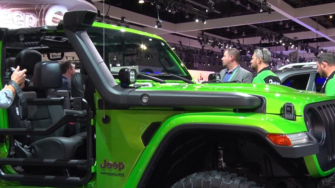Mopar presenta dos Jeep Wrangler personalizados en el ...